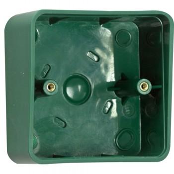 TSS Green Plastic Shrouded Back Box