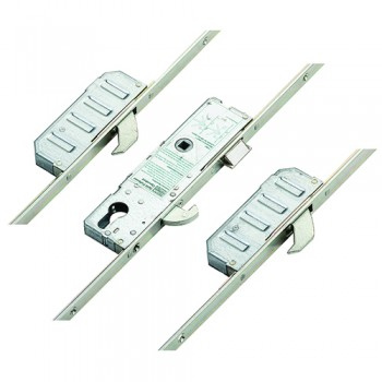 Winkhaus 16201 Symmetrical Aluminium Door Multipoint 3 hooks Split spindle (S/S)