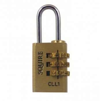 Squire CLL1 Brass Combination Padlock