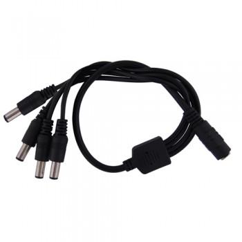 Elmdene 4 Way Splitter - For Inline Plug Power Supply Units
