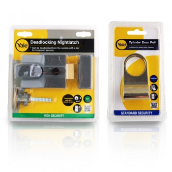 Yale P89 Deadlocking Nightlatch With Free Cylinder Pull